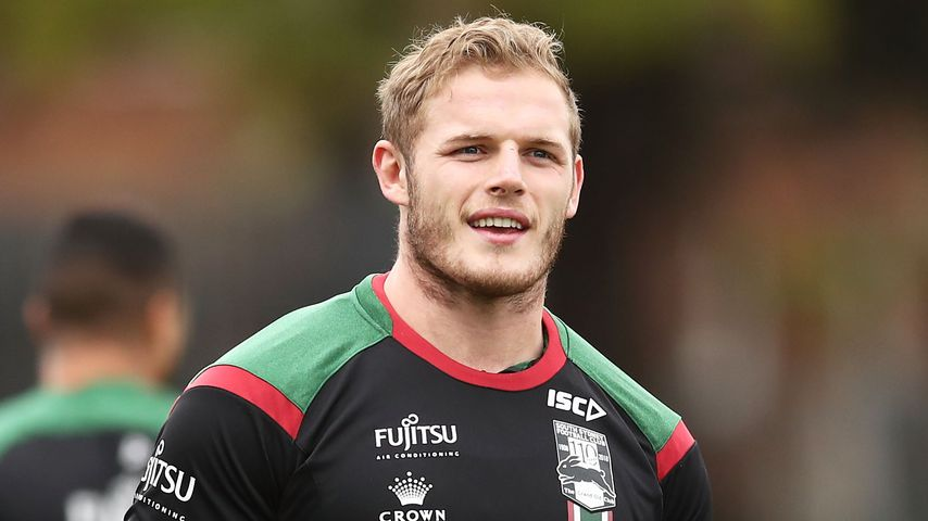 Profi-Rugbyspieler Tom Burgess während einer Trainingssession in Sydney, 2018