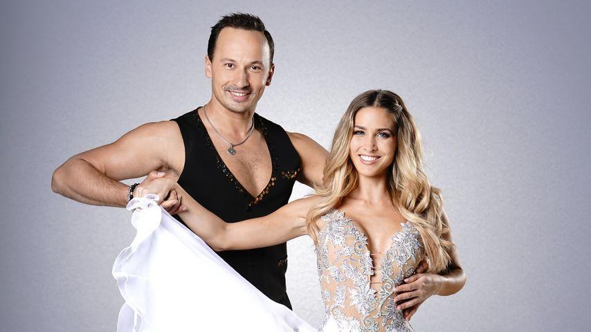 "Profi-Tänzer Sergiu Luca mit ""Let's Dance""-Kandidatin Ann-Kathrin Brömmel"