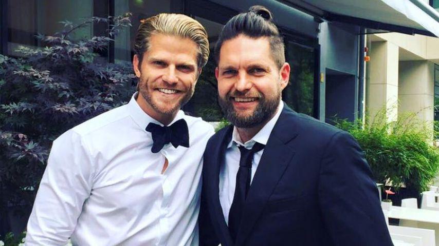 Paul Janke besucht mit einem Freund die Hochzeit von Sila Sahin