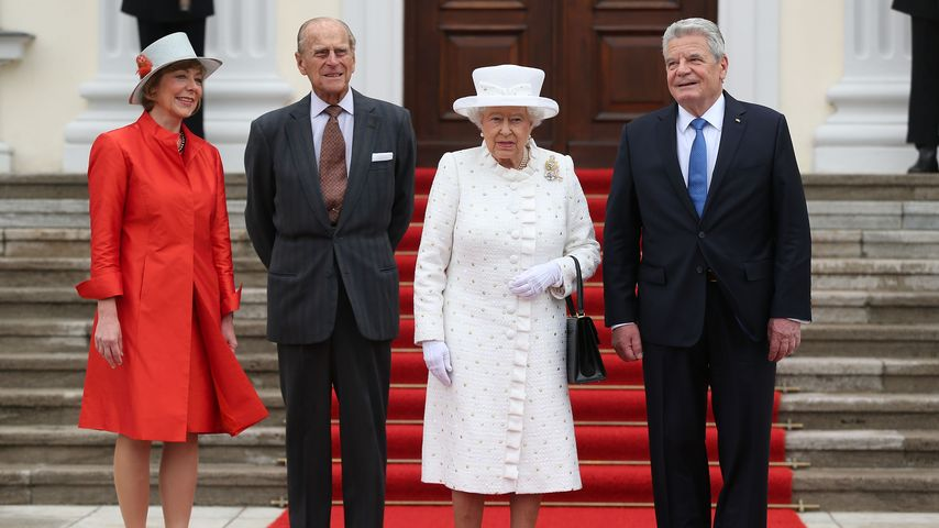 Queen trifft Präsidenten: Warum so ernst, Ihre Majestät?