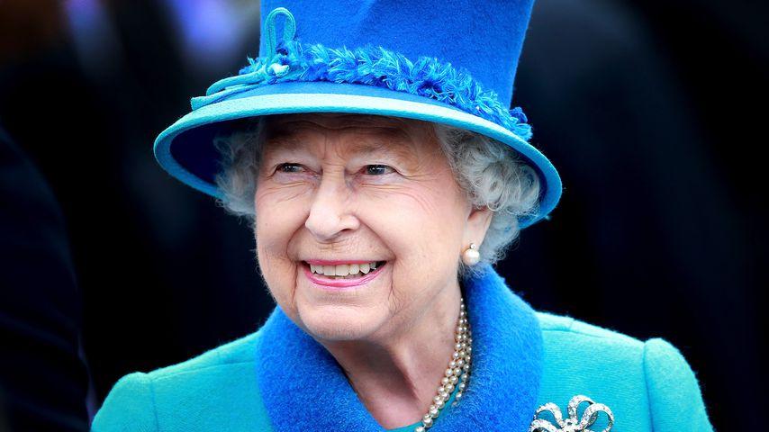 Queen Elizabeth II. in Tweedbank, Schottland