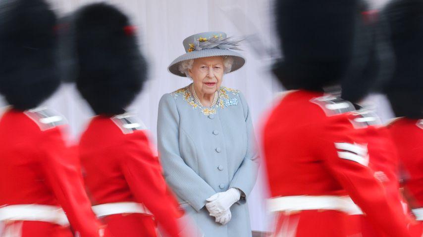 Queen Elizabeth II. bei Trooping the Colour 2021