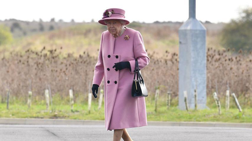 Queen Elizabeth II. in Salisbury am 15. Oktober 2020