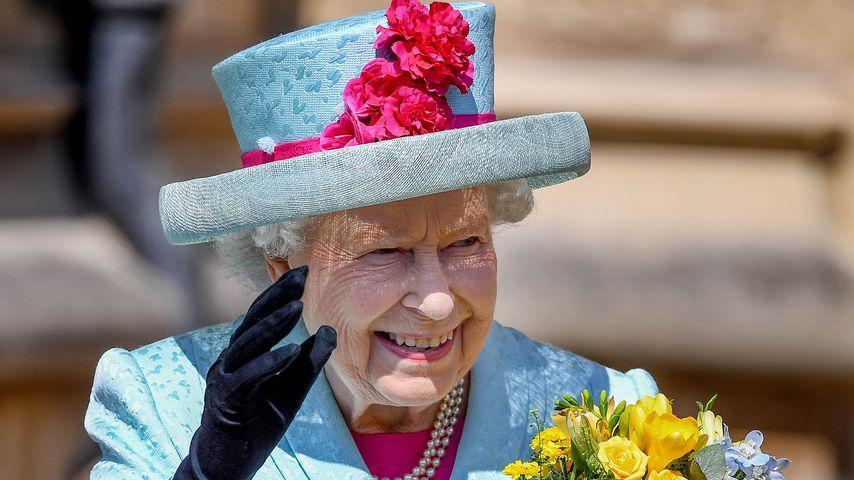 Achtfach-Uroma: Queen strahlt nach Geburt von Baby Sussex!