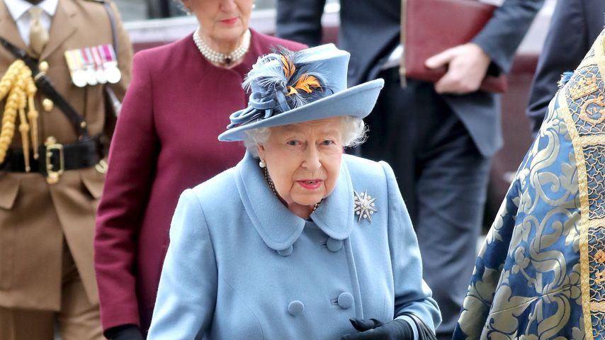 Queen Elizabeth II. im März 2020