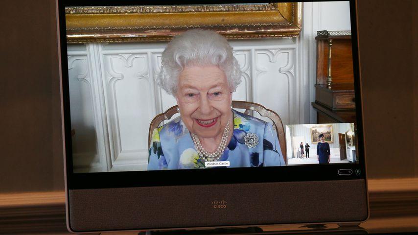 Nach Prinz Philips Beerdigung: Die Queen lächelt wieder