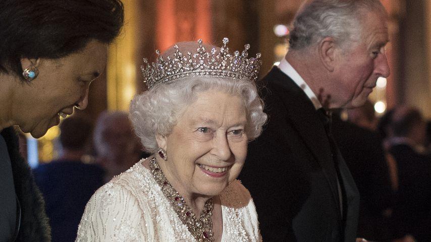 Queen Elizabeth II. im April 2018