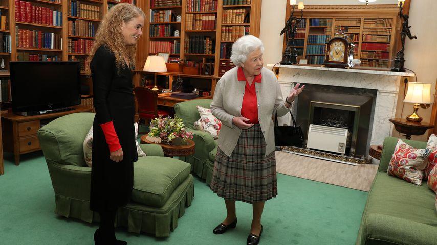 Queen Elizabeth II. im Schloss Balmoral, 2017
