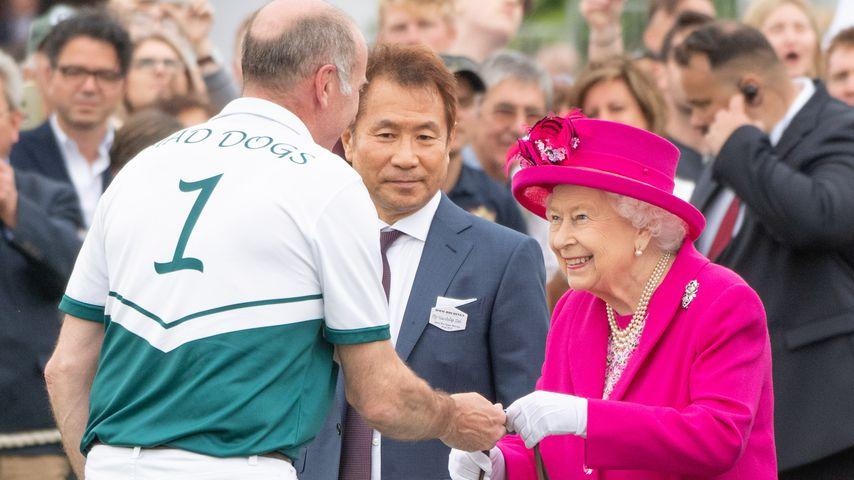 Queen Elizabeth II. beim Royal Windsor Cup Polospiel 2019