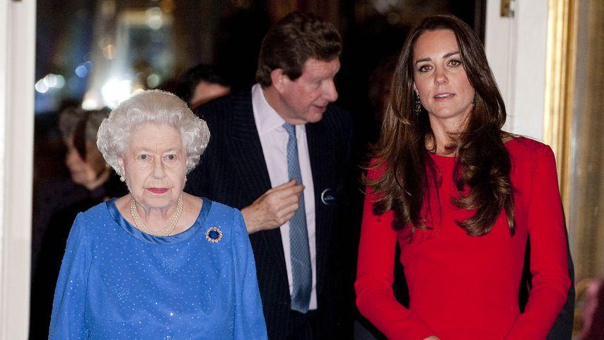 Vor Verlobung mit William hatte Queen Bedenken wegen Kate