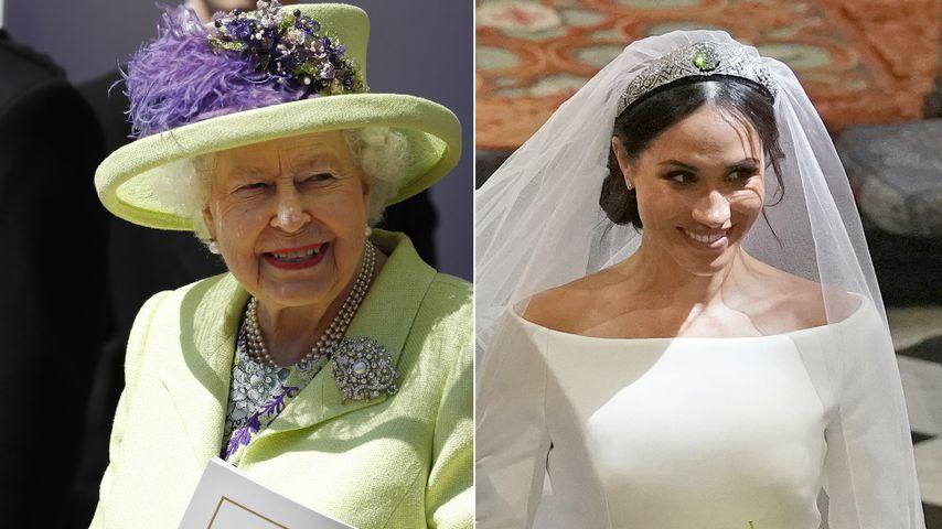 Queen zollt Tribut: So war sie mit Braut Meghan verbunden!