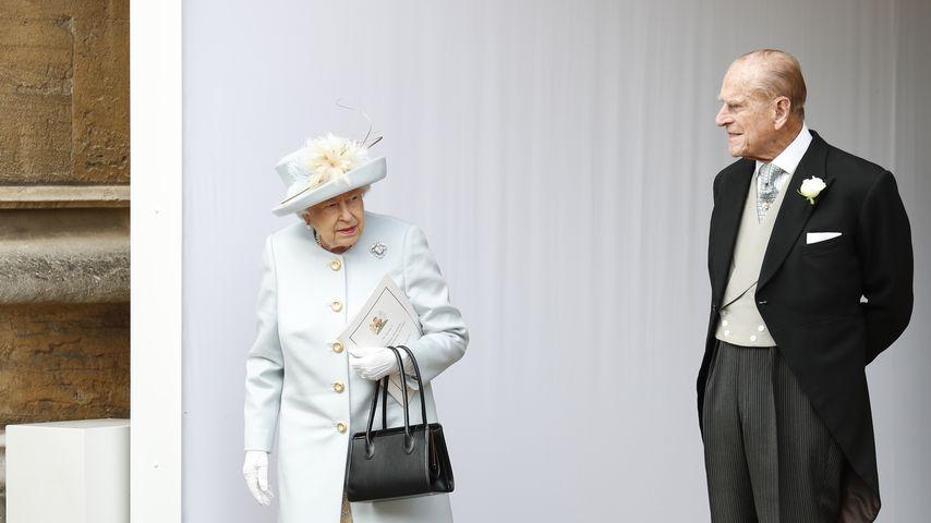 Queen Elizabeth II. und Prince Philip 2018 in England