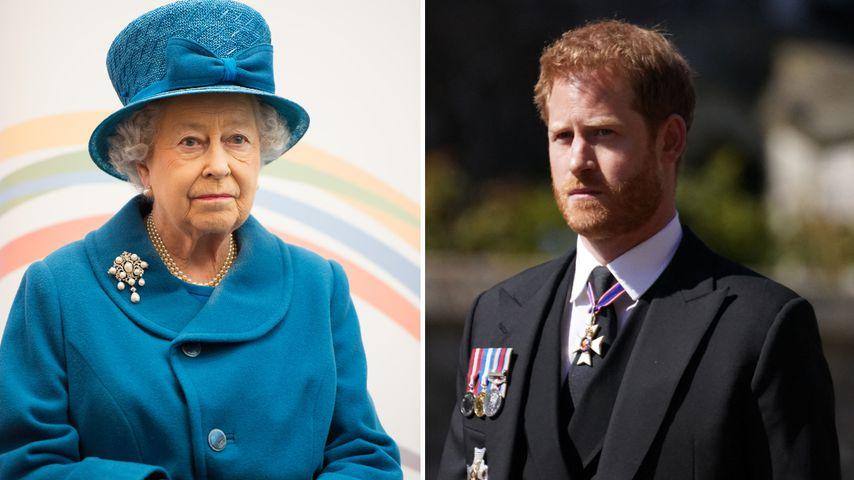 Anwälte eingeschaltet: Hat die Queen genug vom Harry-Zoff?