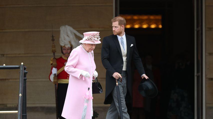 Queen Elizabeth II. und Prinz Harry im Mai 2019