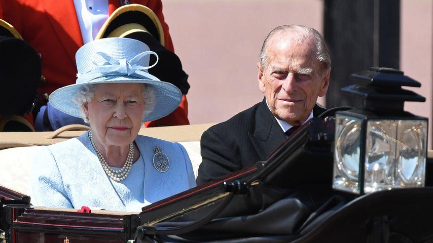 Nach Prinz Philips Beisetzung: Queen bei Parlamentseröffnung