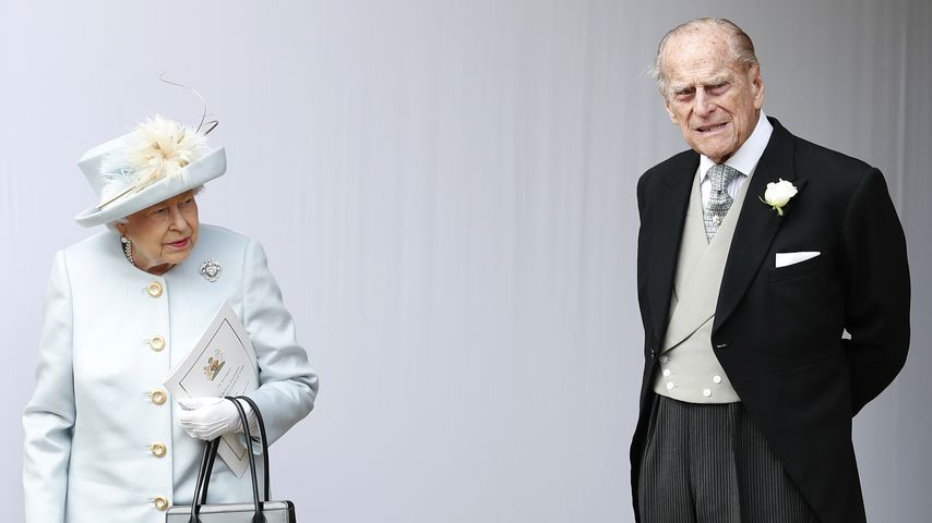 Queen Elizabeth II. und Prinz Philip 2018 in Windsor, England
