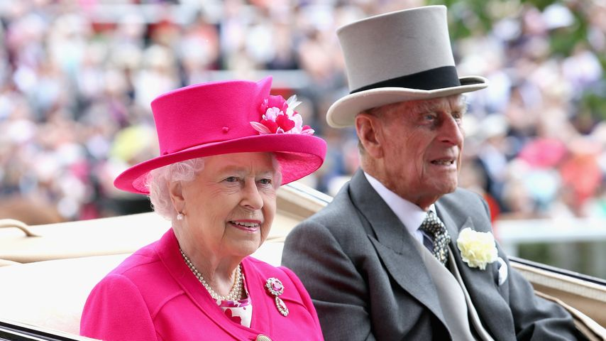 Queen Elizabeth II. und Prinz Philip beim Royal Ascot 2015