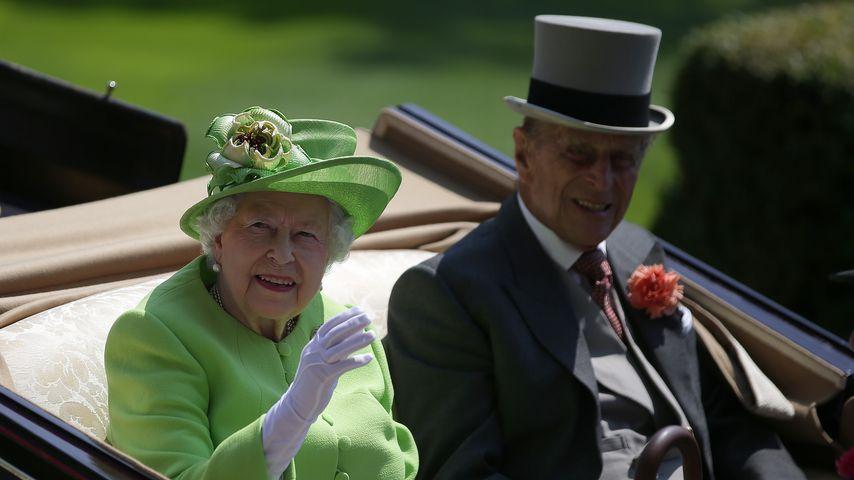 Queen Elizabeth II. und Prinz Philip im Juni 2017