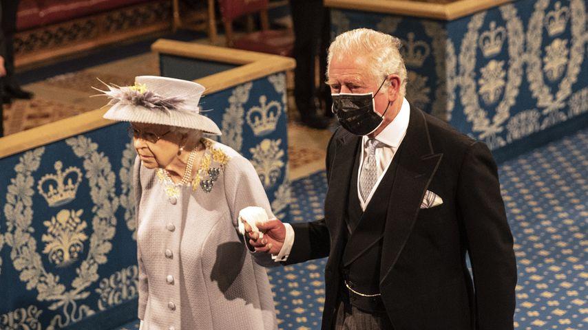 Erste Rede nach Prinz Philips Tod: So schlug sich die Queen