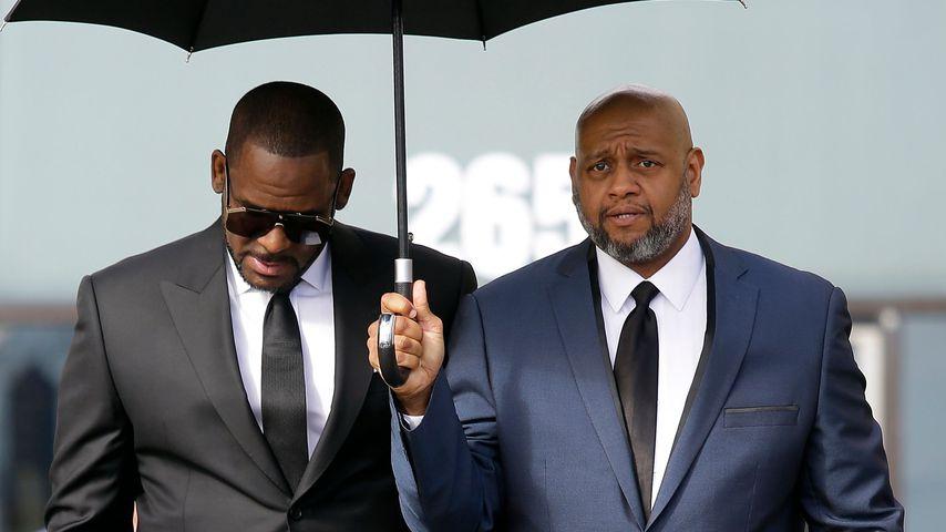 R. Kelly mit seinem Anwalt, März 2019