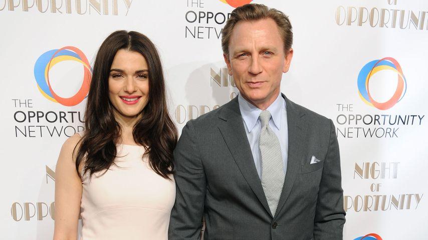 Daniel Craig und Rachel Weisz werden Eltern