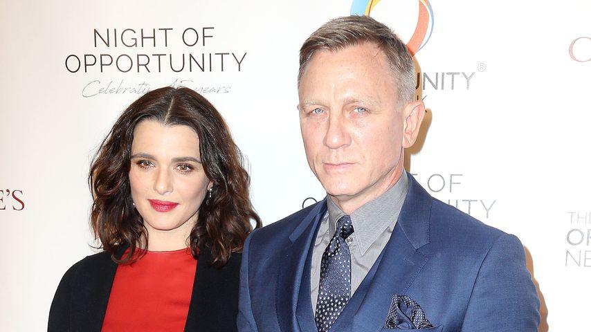Rachel Weisz und Daniel Craig bei der Night of Opportunity Gala in New York, 2018