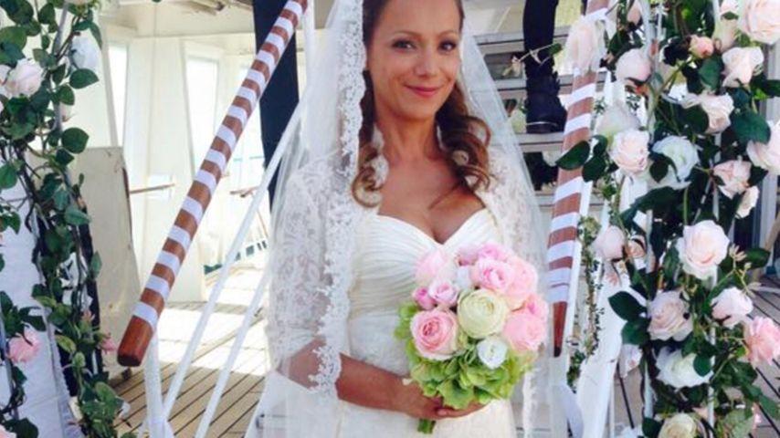 Traumhochzeit: Radost Bokel ist eine wunderschöne Braut