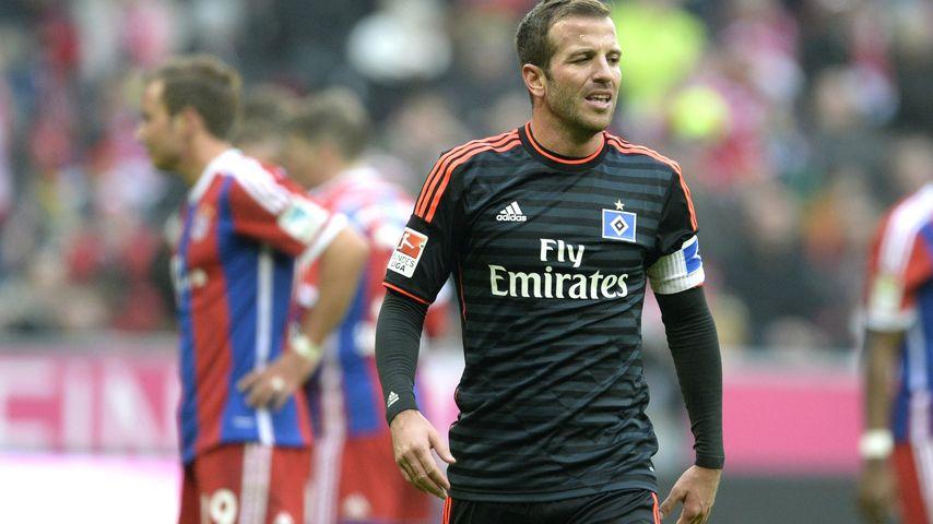 Sabia in Sorge: Rafael van der Vaart beim Training verletzt!
