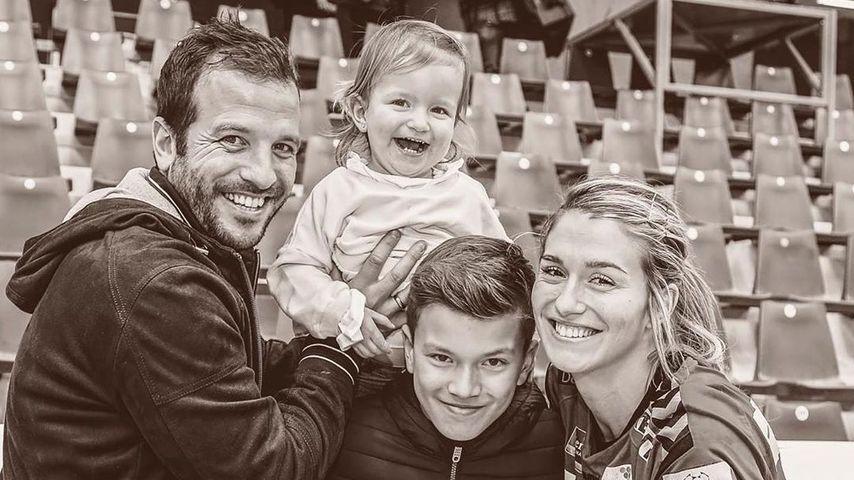 Zum 13. B-Day: Rafael van der Vaart gratuliert seinem Sohn