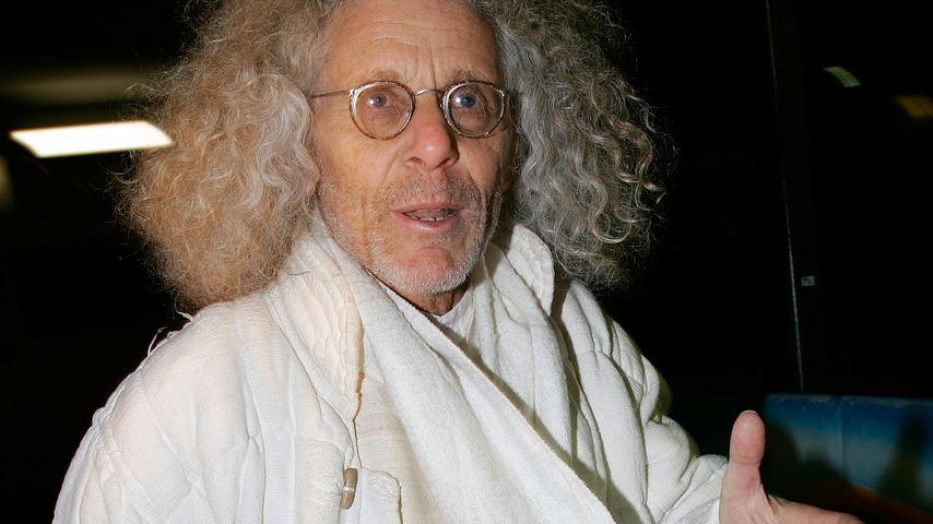 """Rainer Langhans bei der """"Das Wilde Leben""""-Premiere in München im Januar 2007"""