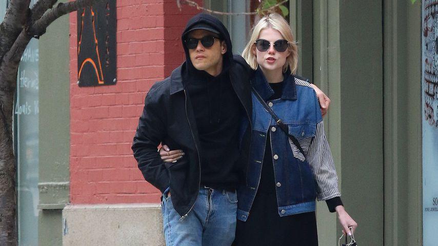 Rami Malek und Lucy Boynton, Mai 2019