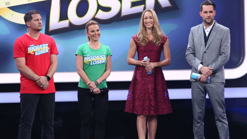 "Ramin Abtin, Mareike Spaleck, Christine Theiss und Matthias Killing bei ""The Biggest Loser"""