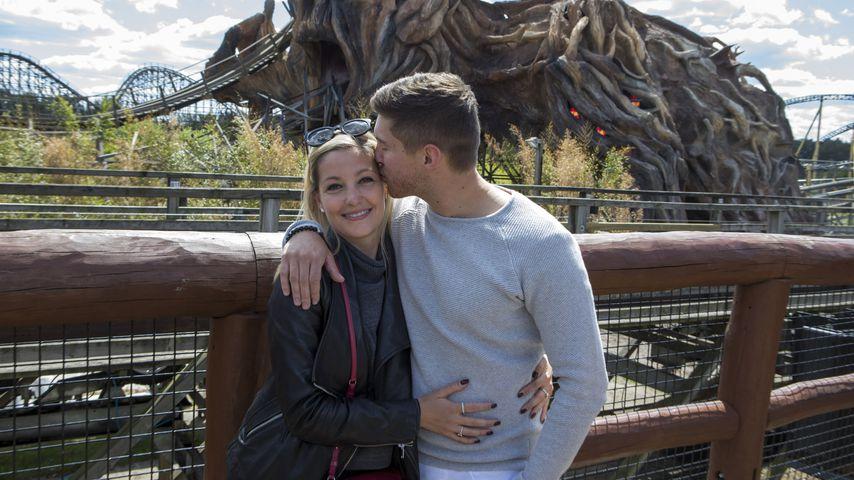 Ramona Elsener und Joey Heindle im Mai 2019 im Heide-Park Soltau