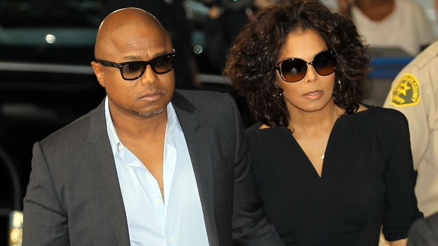 Randy Jackson und Janet Jackson 2011 in Los Angeles