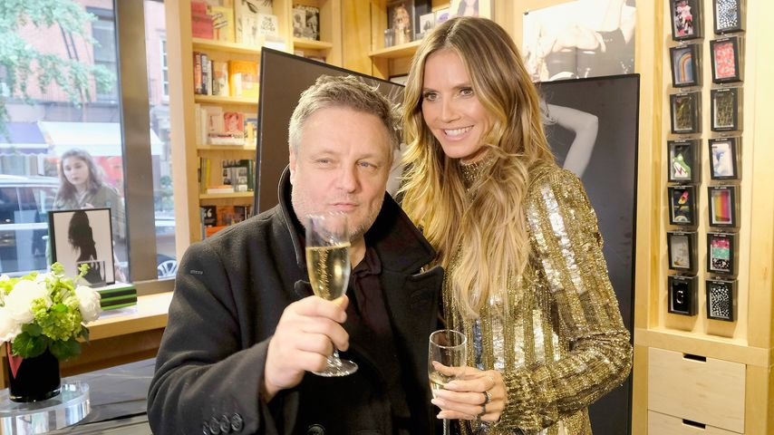 John Rankin Waddell und Heidi Klum in New York City