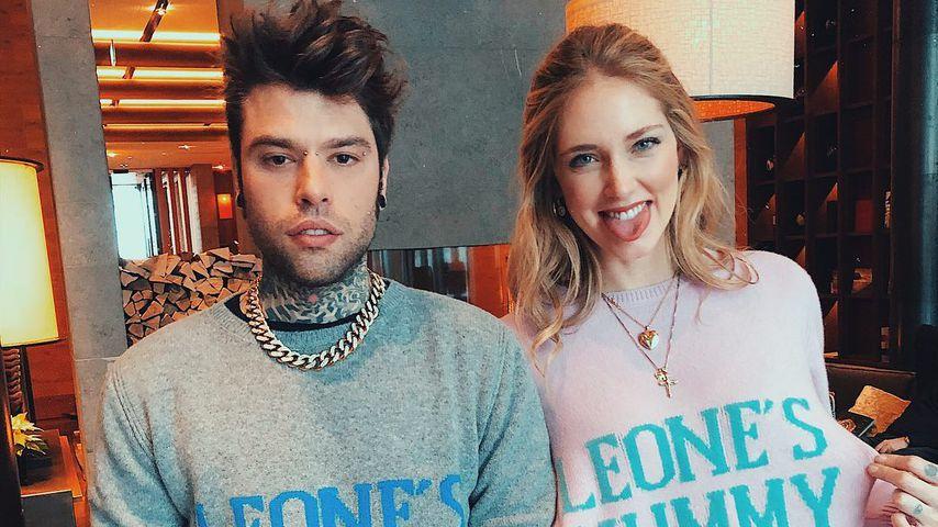 Rapper Fedez und Bloggerin Chiara Ferragni