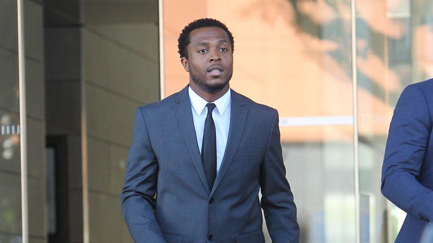 Rapper Flame bei einem Gerichtstermin 2019