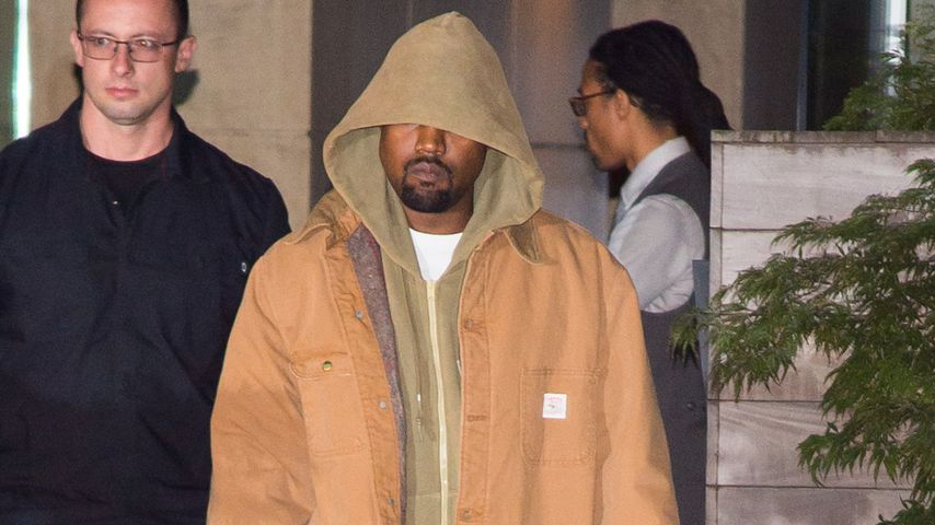 Neue Fotos von Kanye: Kim verschanzt sich weiter in Wohnung!