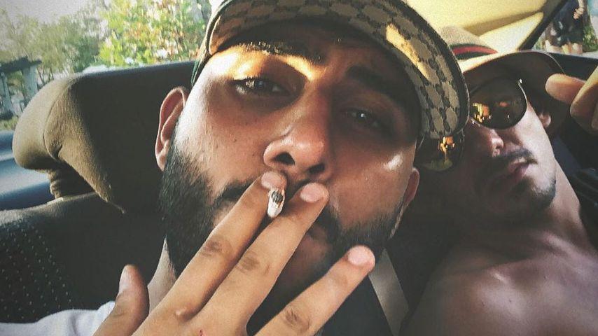 Rapper Samra und Capital Bra, 2019