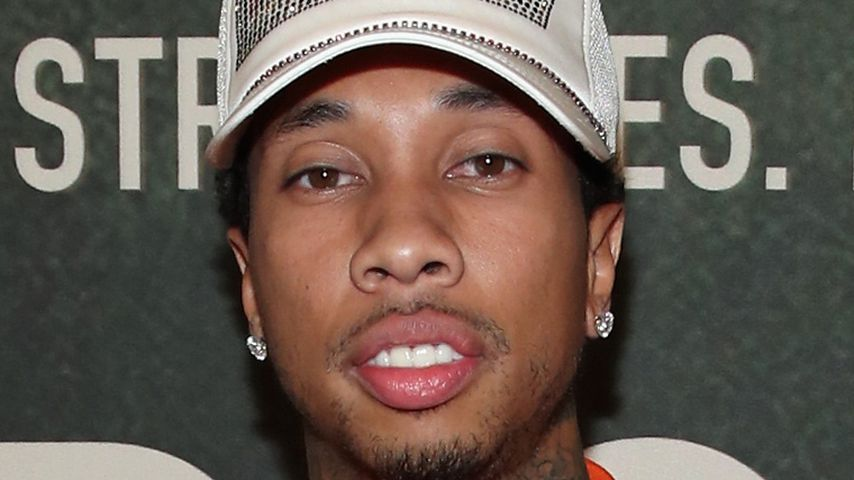 Rapper Tyga bei einer Premiere in Los Angeles