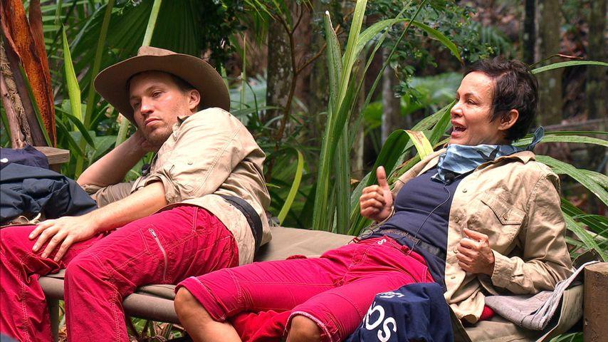 Raúl Richter und Sonja Kirchberger, Dschungelcamp Tag 6