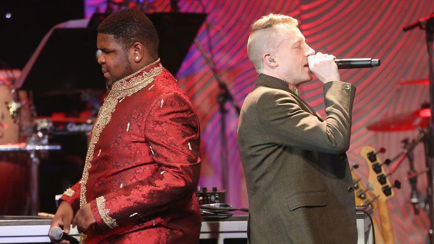 Ray Dalton und Macklemore bei den Grammys 2014