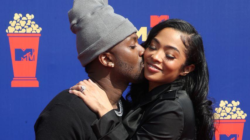 Rapper Ray J mit seiner Ehefrau Princess Love