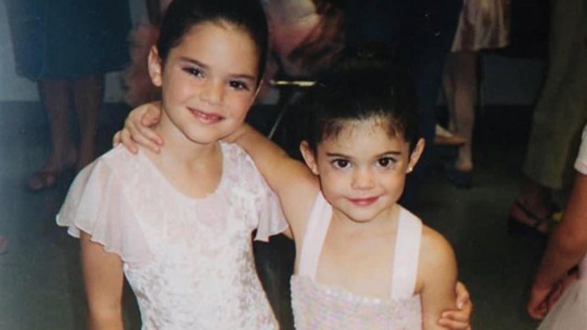 Kendall und Kylie Jenner als Kinder