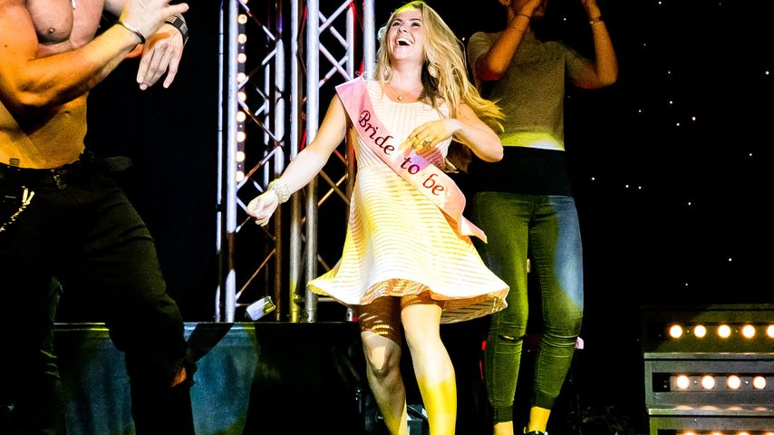 Rebecca Kratz auf der SixxPaxx-Bühne
