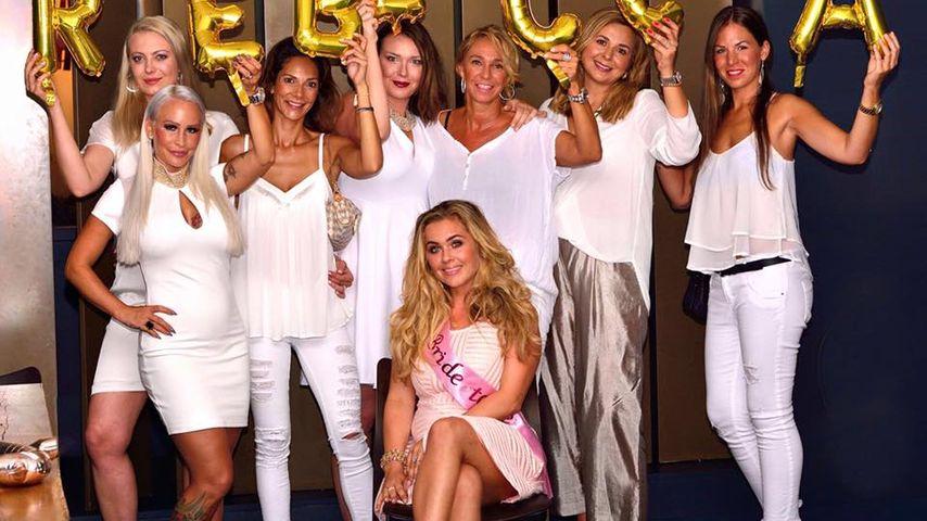 Hochzeits-Countdown: Rebecca Kratz feiert Bachelorette-Party