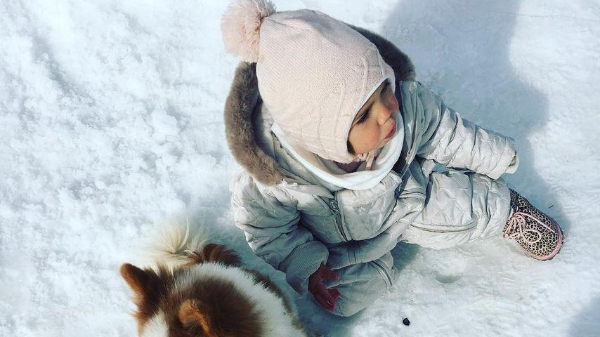 Rebecca Kratz' Tochter Alaia-Claire