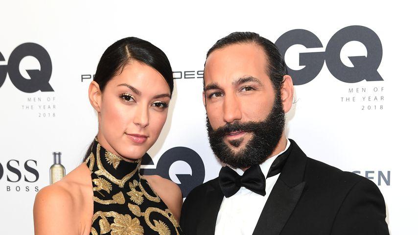 Rebecca Mir und Massimo Sinató beim GQ Award 2018