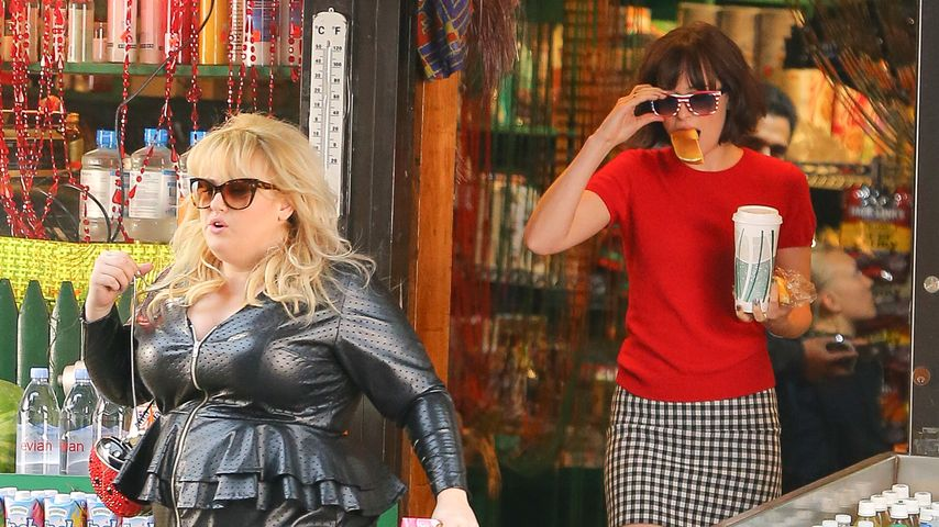 Dakota Johnson und Rebel Wilson