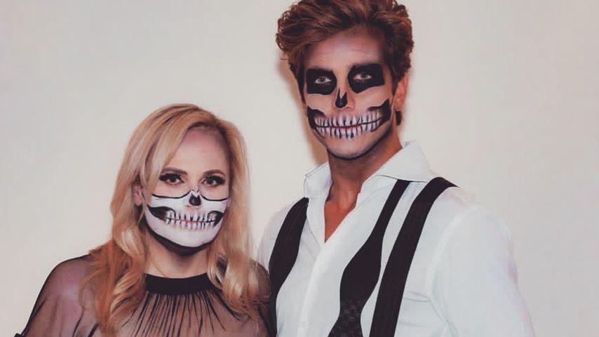 Rebel Wilson und ihr Freund Jacob Busch an Halloween 2020